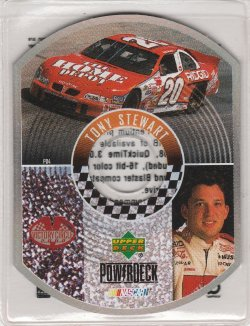 2000 Upper Deck Victory Tony Stewart Powerdeck
