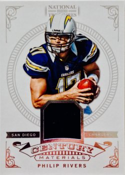 2012 Panini National Treasures Philip Rivers