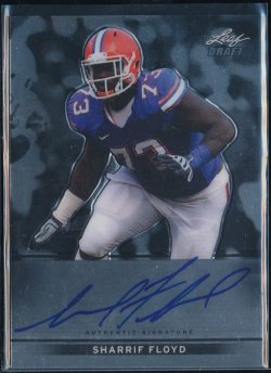 2013 Leaf Metal Draft Sharrif Floyd Auto