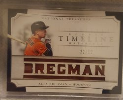 2017 Panini National Treasures Alex Bregman