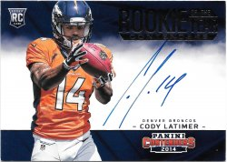 2014 Panini Contenders Rookie of the Year Contenders Autographs Cody Latimer
