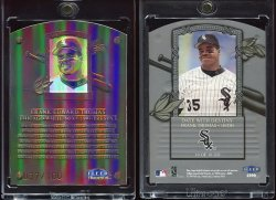 1999  Fleer Tradition Date with Destiny Frank Thomas