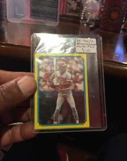 1988 Topps  Super Star Mini-#44 (2)