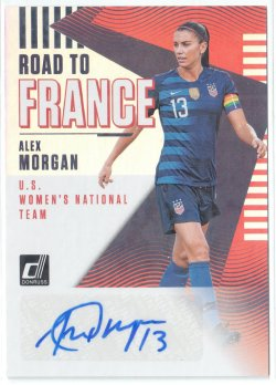 2019 Donruss Road to France Autographs Alex Morgan