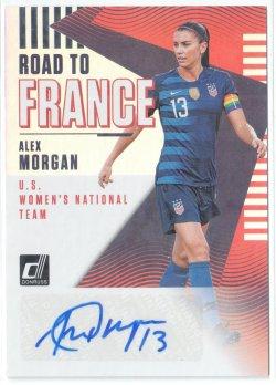 2019 Donruss Road to France Autographs Alex Morgan