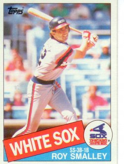 1985 Topps Topps Chewing Gum Roy Smalley - SS-3B-1B