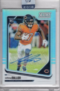 2018 Panini Honors Anthony Miller Score Update Rookies Signatures