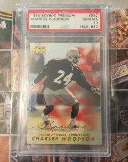 1998 Skybox Premium Charles Woodson