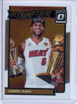 2016-17 Donruss Optic LeBron James The Champ is Here