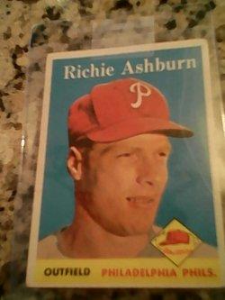 58 Topps  Richie ashburn