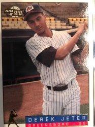 1993 Fleer Excel Derek Jeter