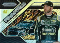 2018 Panini Prizm Jimmie Johnson