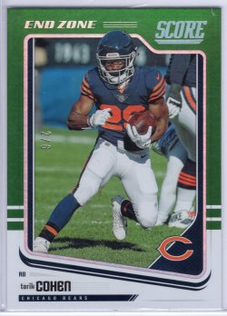 2018 Score Score Tarik Cohen Base End Zone