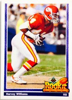 1991 Upper Deck Rookie Force Harvey Williams