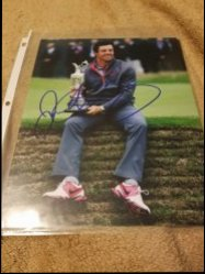 Rory McIlroy 8x10 IP Autograph