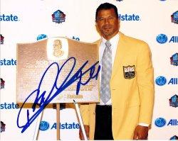 Rod Woodson 8x10 Photo IP Autograph
