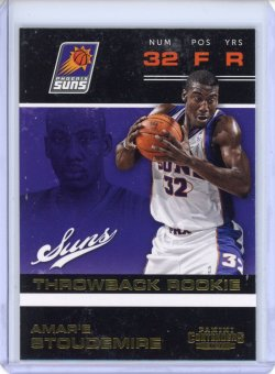 2012-13 Panini Contenders Amare Stoudemire Throwback Rookie