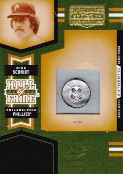2005 Donruss Prime Patches Mike Schmidt