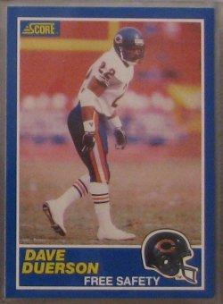 1989 Score  #22 - Dave Duerson