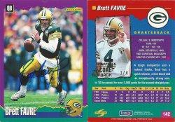 2019 Score  Buyback Autographs #18 Brett Favre