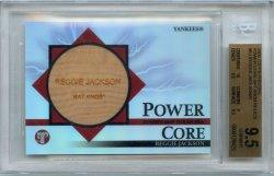 2005 Topps Pristine Reggie Jackson Power Core Bat Knob