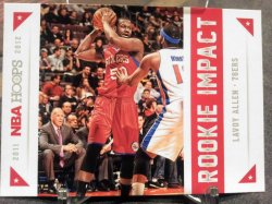 2012-13 Panini Hoops Rookie Impact Lavoy Allen
