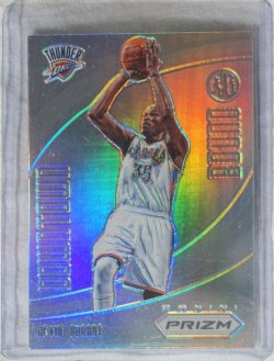 2012 Panini Prizm Kevin Durant Downtown bound silver