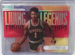 2019 Panini illusions Oscar Robertson Living Legends pink