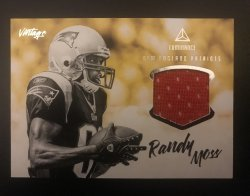 2020 Panini Luminance RANDY MOSS