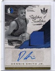 2017-18 Panini Court Kings Dennis Smith Jr Scripts & Swatches