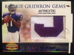 2007 Donruss Gridiron Gear Troy Smith rookie patch