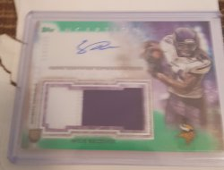 2015 Topps Inception Stefon Diggs