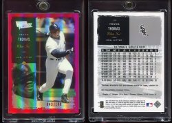 2000  Ultimate Victory Parallel 100 Frank Thomas