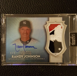 2017 Topps Dynasty Randy Johnson Logoman 1/1