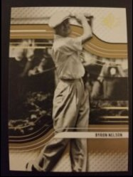 2012 Upper Deck SP Authentic  Byron Nelson