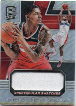 2018-19 Panini Spectra Beal, Bradley - Spectacular Swatches
