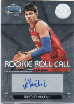 2012-13 Panini Totally Certified Vucevic, Nikola - Rookie Roll Call Autographs