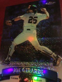 1998 Topps Finest ReFractor  JOE GIRARDE #48 NewYork Yankee Cub Catcher