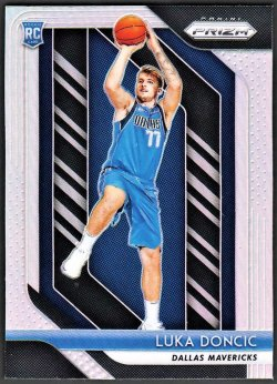 2018-19   Luka Doncic Prizm Silver Refractor RC