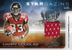 2008 Playoff Absolute Harry Douglas 2008 Absolute Star Gazing Jersey 025 of 250