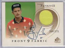 2002 Upper Deck SP Authentic Jesper Parnevik