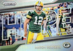 2018 Panini Prizm Aaron Rodgers Hype Silver