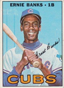 1967 Topps  Ernie Banks