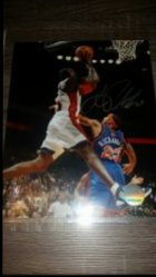 Jason Richardson 8x10 Photo IP Autograph