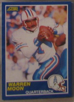 1989 Score  #15 - Warren Moon