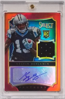 2014 Select Red Rookie Jersey Auto