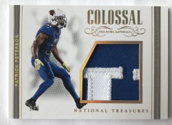 2017 Panini National Treasures Pro Bowl Patch /8