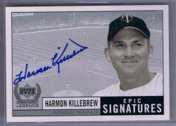 Upper Deck Legends Harmon Killebrew Epic Signatures Autograph