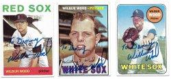 1964, 196 Topps  TTM Wilbur Wood 10/18/21