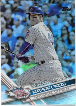 2017 Topps Rainbow Foil Rizzo - LL